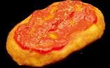 あげ焼きパン象の耳:特製トマトソース